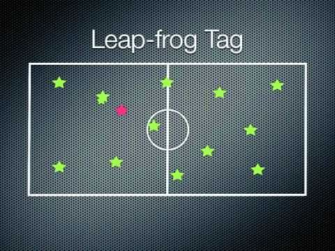 ▶ P.E. Games - Leap-frog Tag - YouTube