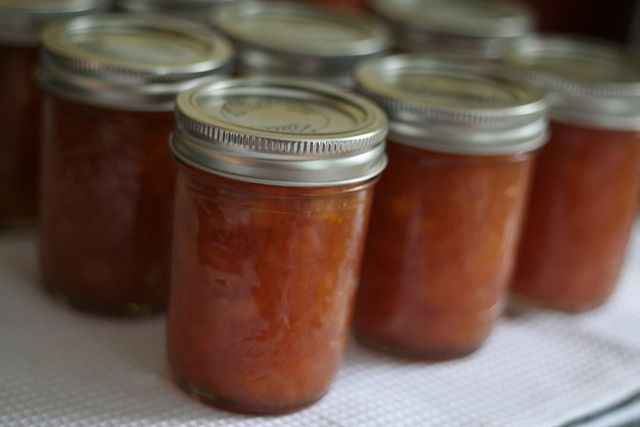 Bourbon Peach Jam | Canning, dehydrating and pressure cooking | Pinte ...