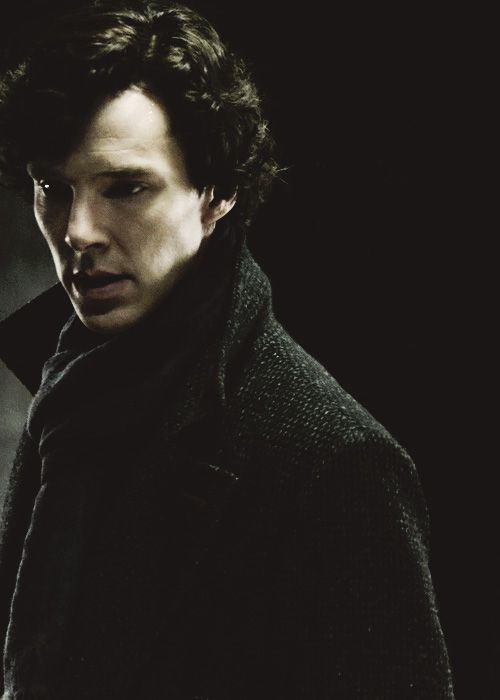 Sherlock Holmes in the BBC series Shelrock played by Benedict Cumberbatch.