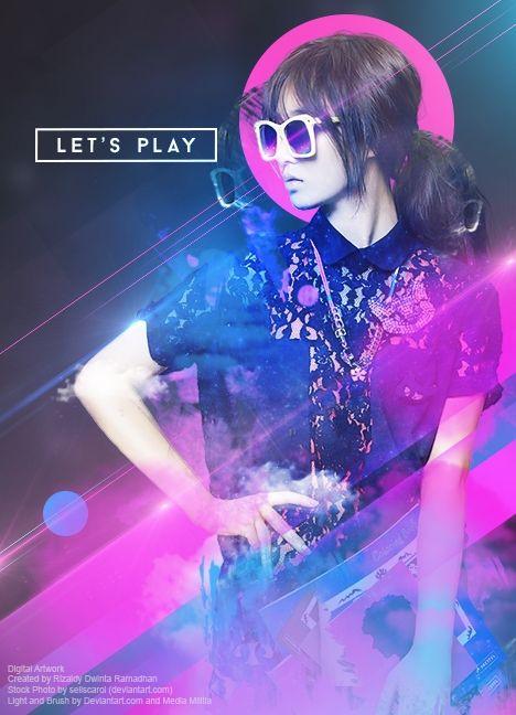 Digital Artwork - Let's Play | Kreavi.com