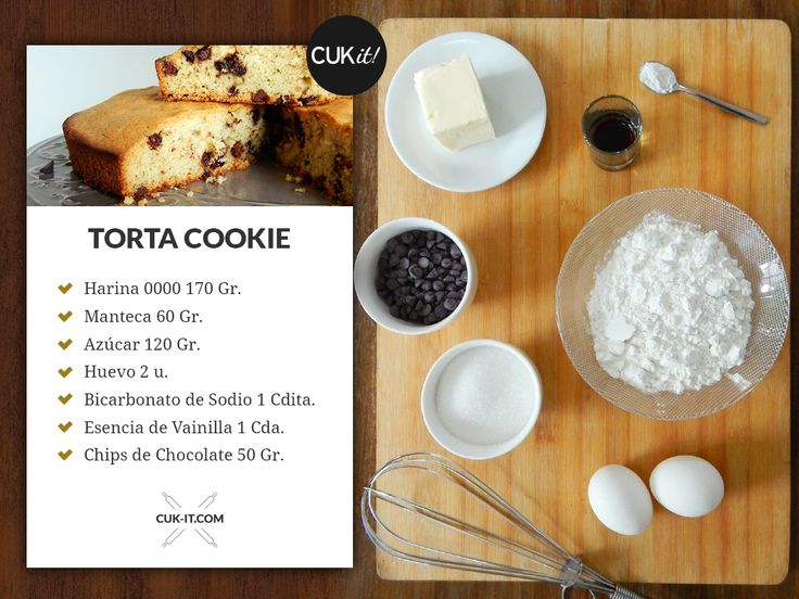 Receta Torta Cookie