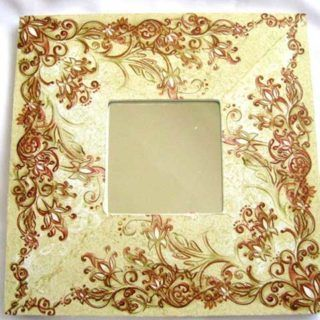 #Design #elemente #florale de #culoare #maro, #oglinda #femei #lucrat #manual / Design #floral #elements of #brown, #handmade #women's #mirror / #갈색, #수제 #여성 #거울의 #꽃 #요소 #디자인 https://handmade.luxdesign28.ro/produs/design-elemente-florale-de-culoare-maro-oglinda-femei-handmade-17272/