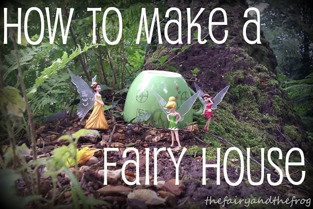 Gnome Garden: DIY Fairy House