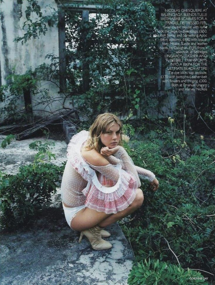 EDITORIAL ARCHIVE – BRITISH VOGUE JULY 2001 BY C…