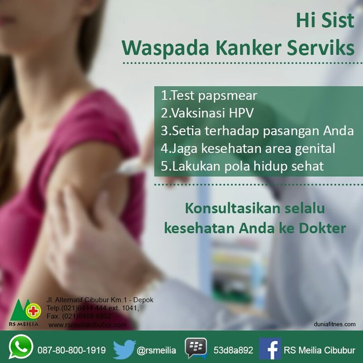 Kanker #serviks #sehat #rumahsakit #rsmeilia #cibubur #depok #cileungsi #bekasi #bogor #jakarta #indonesia