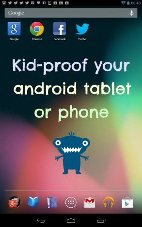 Kid-proof your android devices and save yourself a massive bill! #tech #kid-proof #androidtips