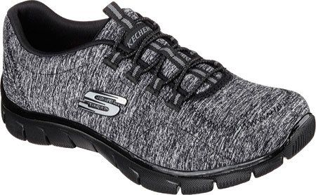 Skechers Womens Relaxed Fit: Empire - Heart To Heart Black Black Walking Shoe - 9 - http://all-shoes-online.com/skechers-3/9-b-m-us-skechers-sport-womens-heart-to-heart