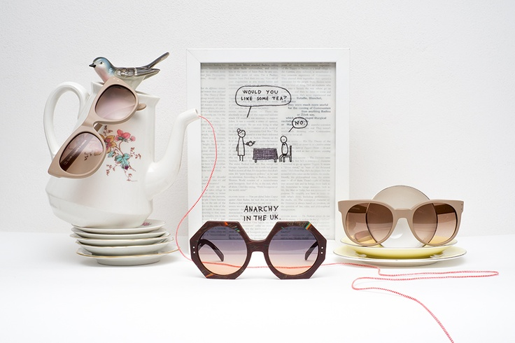 OLIVER GOLDSMITH (you don't need sun for sunglasses)