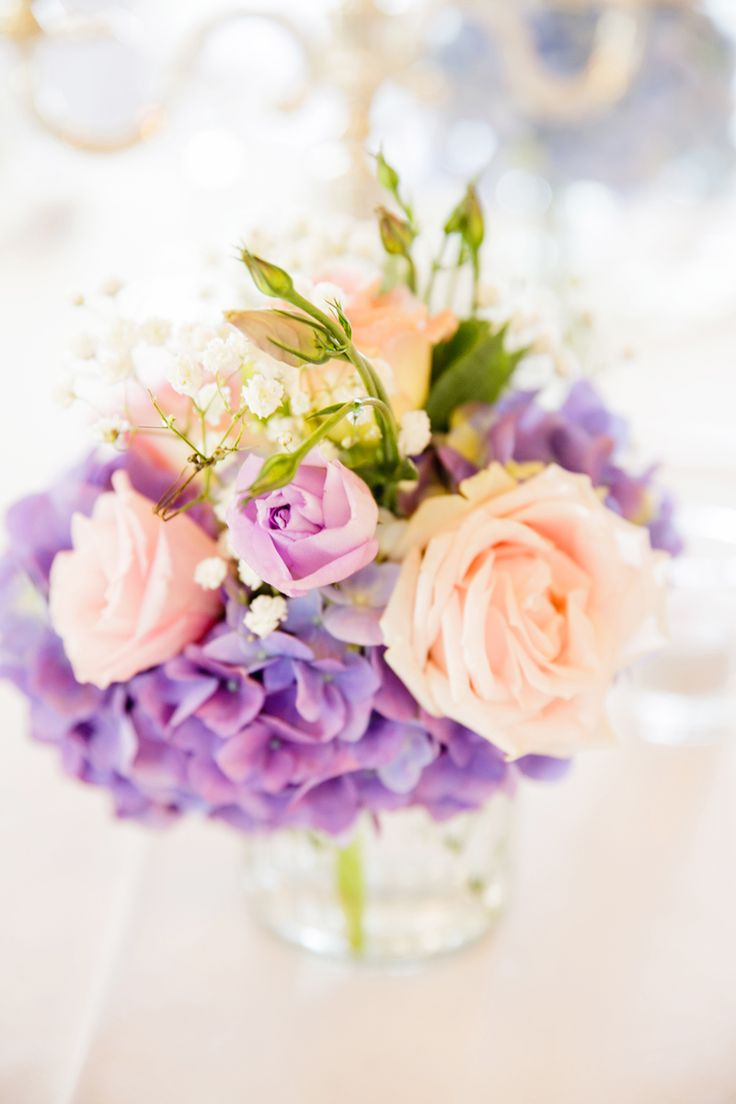 Lilac Pink Nude & White ♥ #karenbucklephotography  #tiffanysflowers #weddingsattiffanys #weddingsinmaleny #bridalbouquet #ivory #white #pinkroses #lilaclisianthus #peach #purple #hydrangea #softcolours