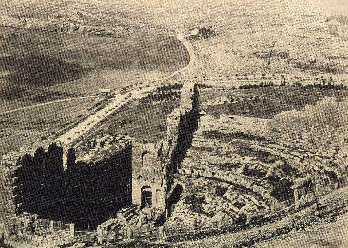 Ωδειο Ηρωδου Αττικου 1864