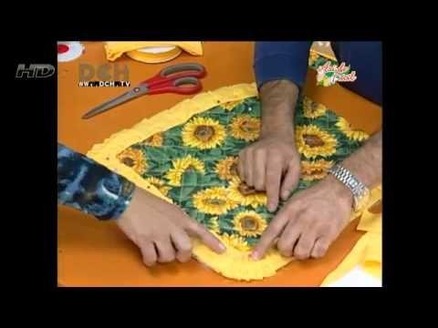 6º Clase vistiendo la cocina: Cojín y funda para respaldo de una silla - YouTube