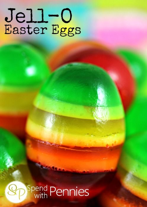 Jell-O Easter Eggs - Spend With Pennies