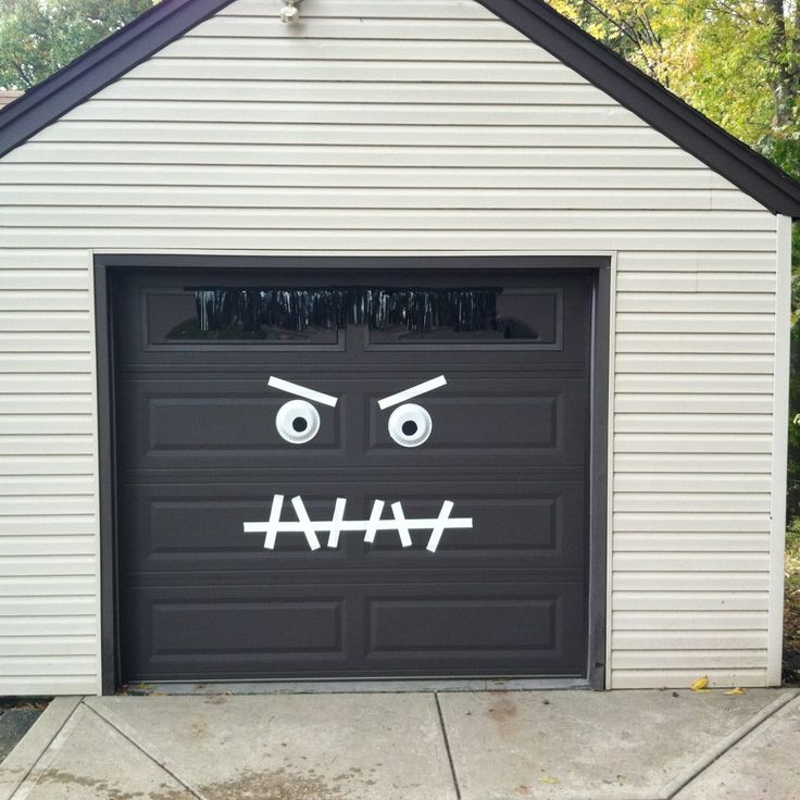 Garage Door Decor: Best 25+ Halloween Garage Door Ideas On Pinterest