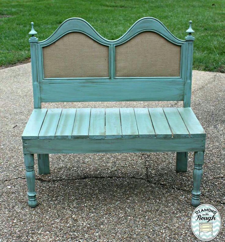 headboard garden bench Best 25+ Headboard benches ideas on Pinterest | Benches