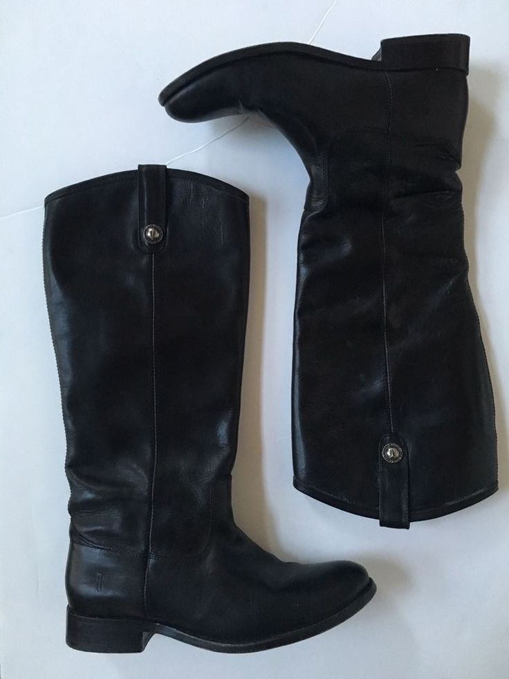 8.5 WIDE CALF extended FRYE melissa button riding boot black NORDSTROM   #Frye #RidingFashionBoot
