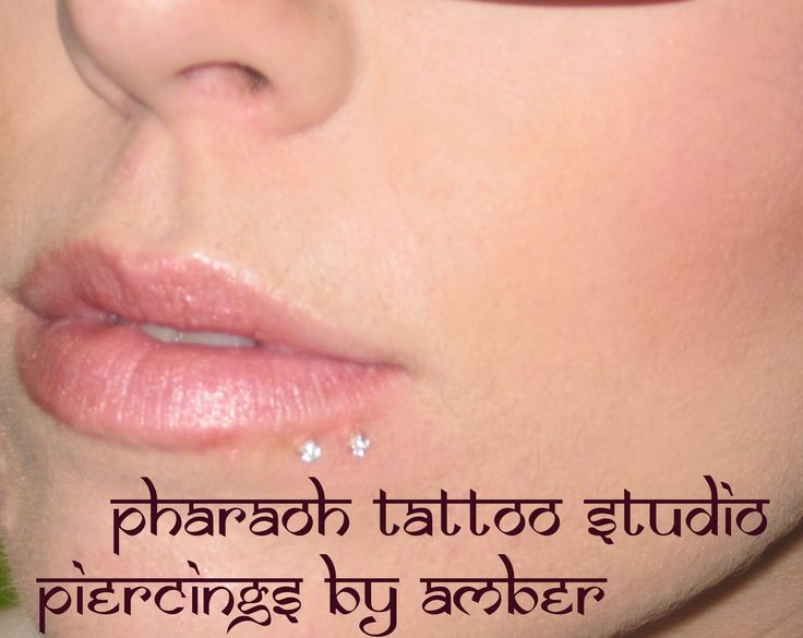 Healed lip piercings I did (spider bite) I am available for body piercings, surface piercings, microdermals and consultations at Pharaoh Tattoo Studio, 575 Lawrence ave. Kelowna BC. Call 778-478-9367 to book ana appointment with me.