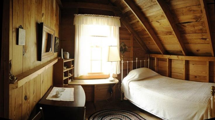 Single Bed Bedroom Dream Cabin Pinterest