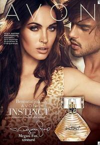 Mire is fókusz a 2013/14 -es kampány? Avon Instinct parfüm. Próbáld ki Te is, le fog venni a lábadról.