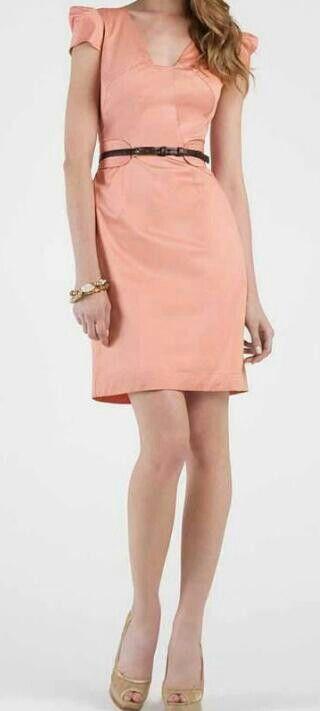 Mu00e1s de 25 ideas fantu00e1sticas sobre Vestidos Color Salmon en Pinterest | Vestido salmu00f3n Vestidos ...