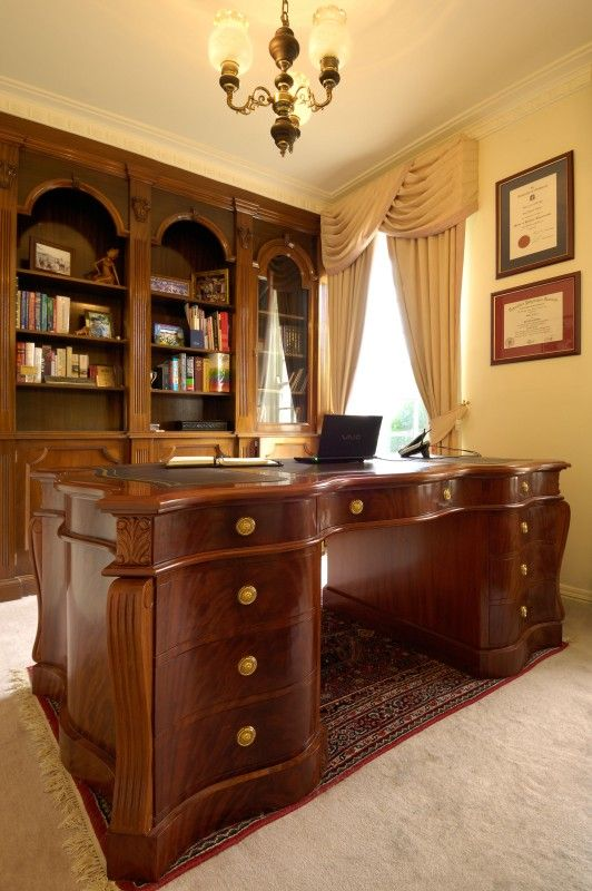 French style Mahogany desk