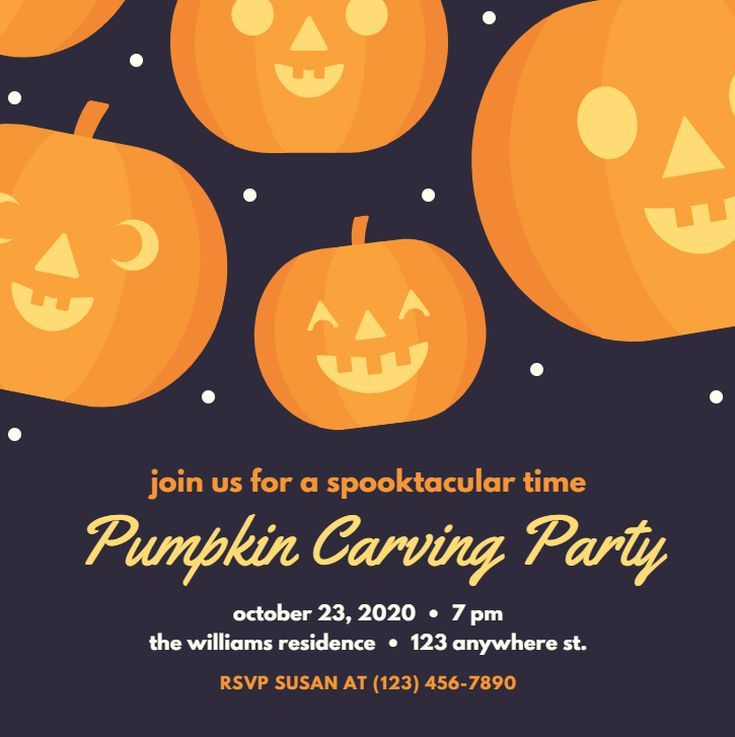 Halloween 2020 For Free Online Invite Everyone to Your Halloween Party With These Free Online