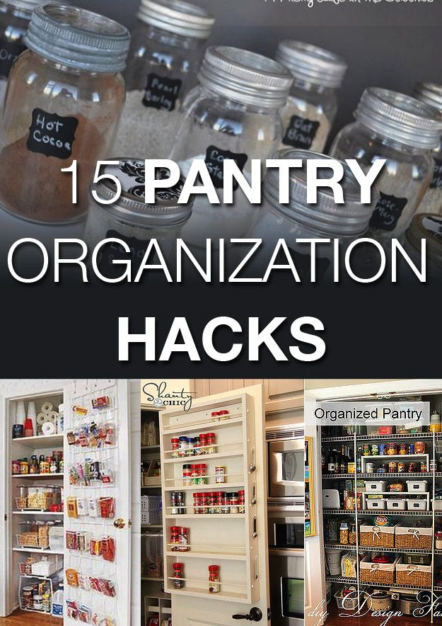 21 clever pantry storage solutions idea box by meredith for Kitchen organization hacks