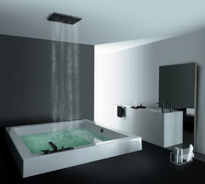 most relaxing bathroom everBathroom Design, Rain Shower, Modern Bathroom, Bathtubs, Dreams Bathroom, Interiors Design, Dreams House, Bathroomdesign, Bathroom Ideas