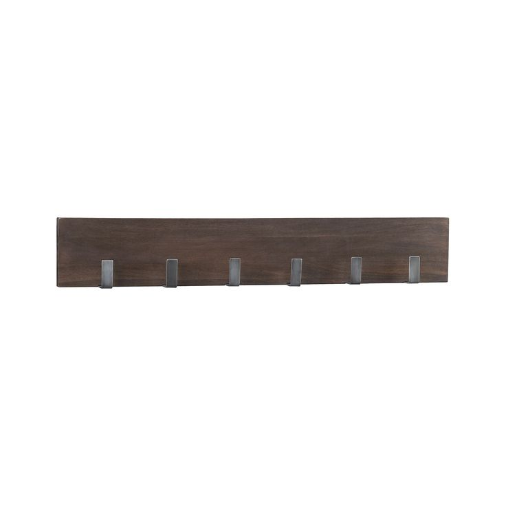 Leigh Wall Mounted Coat Rack + Reviews | Crate and Barrel