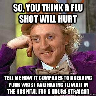 The Best Collection of Flu Shot Memes | Doctors Immediate ...