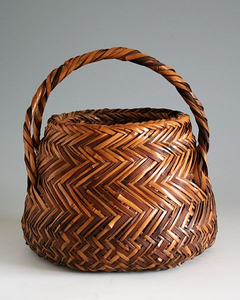 290 best images about baskets japanese on pinterest for Bamboo weaving tutorial
