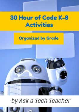 Here are ideas of apps and websites that teachers in my PLN used successfully in the past during Hour of Code: Kindergarten Start kindergartners with problem solving. If they love Legos, they'll lo…