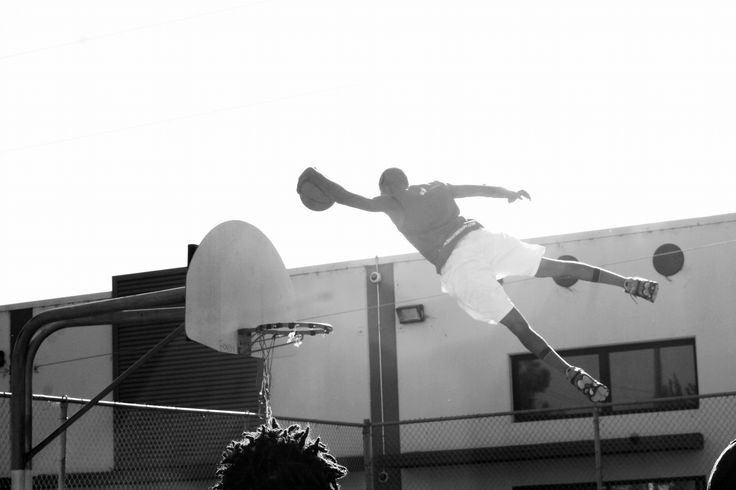 Above The Rim. by charles ray jones