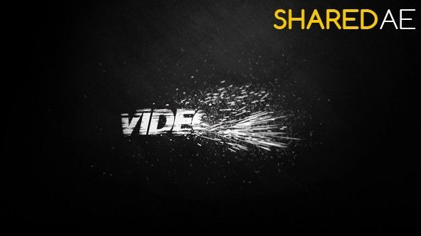 Videohive - Black And White Logo Reveal 17258360  - Free Download