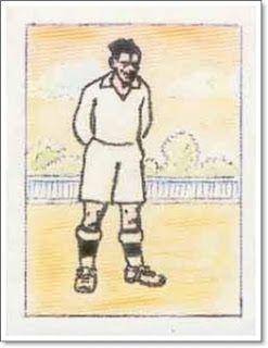 Eugenio. Real Madrid. 1931-32. Campeón de Liga. Extremo derecho.