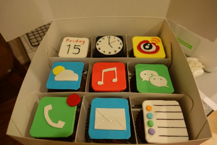 iphone icon cupcakes
