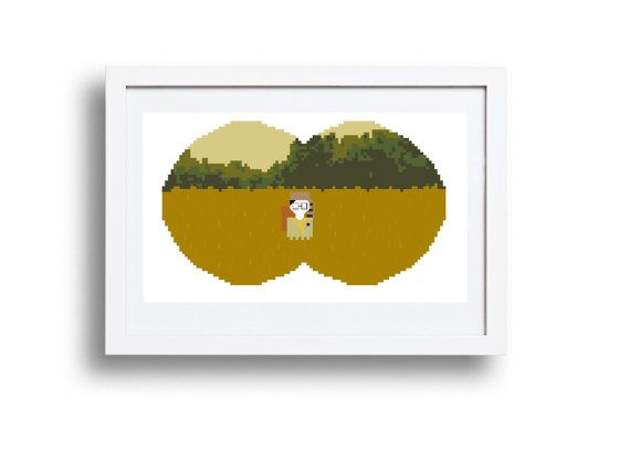 Moonrise Kingdom  Sam  Cross Stitch Pattern by peaceandstitches