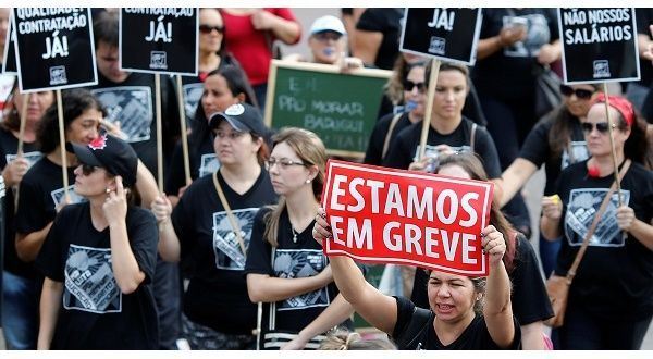 No Negotiating Labor Rights in Post-Coup Brazil: Union Leader Brian Meier speaks to Brazilian labor leader Douglas Izzo about the state of labor organizing amid the country's political turmoil.