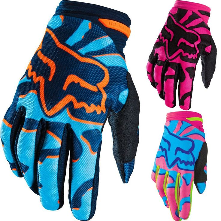 Fox Racing Dirtpaw MX Womens Off Road Dirt Bike Motocross Gloves
