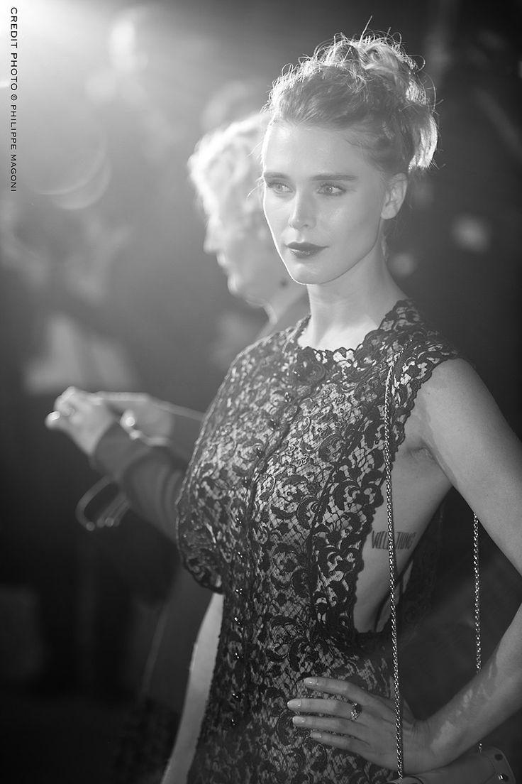 Gaia WEISS (série vikings) - festival de Cannes 2016