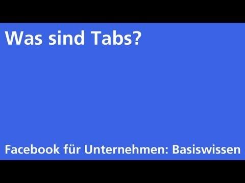 Facebook: Was sind Tabs?