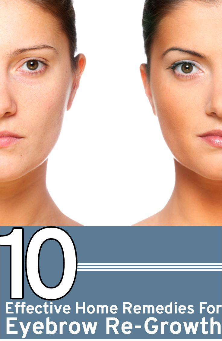 Did you over pluck your eyebrows accidentally? Wondering how to get back them? Here are 10 effective home remedies for eyebrow regrowth that you should try.