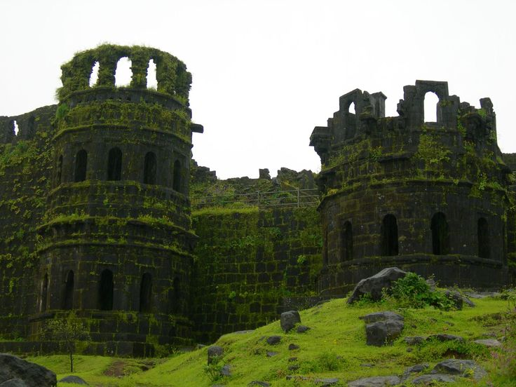 Raigad Fort, Mahad, Raigad district, Maharastra.  Shivaji made the fort his capital in 1624 AD