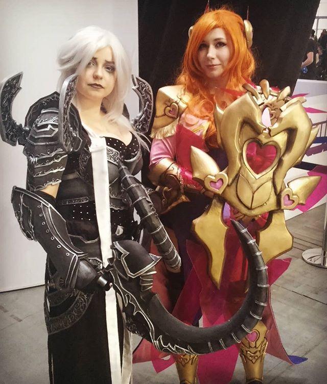 Z niesamowitą @darayacosplay na #pga ❤ tak ładnie pasujemy kolorystycznie ^^ #cosplay