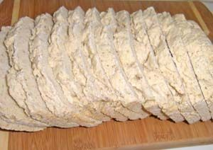 Gluten Free Bread Recipe for Bread Machines - reminds me of english muffins