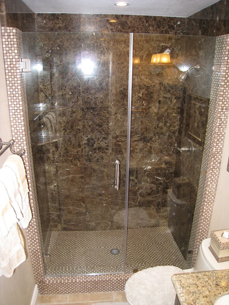 Bathroom:Fascinating Granite Stone Tile Design With Glass Partition Idea  Choosing The Wonderful Natural Stone