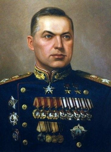 Soviet Marshal Konstantin Rokossovsky (1896 – 1968), one of the most prominent Red Army commanders.