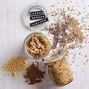 Homemade Coarse Ground Mustard From Better Homes and Gardens, ideas and improvement projects for your home and garden plus recipes and entertaining ideas.