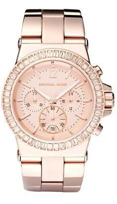 I found 'Michael Kors Baguette-Bezel Watch, Rose Gold' on Wish, check it out!