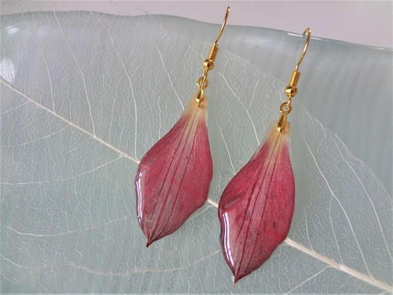 Pin By Spooky On Fox S Swag Bag Drop Earrings Amazing Jewelry Botanical Jewelry