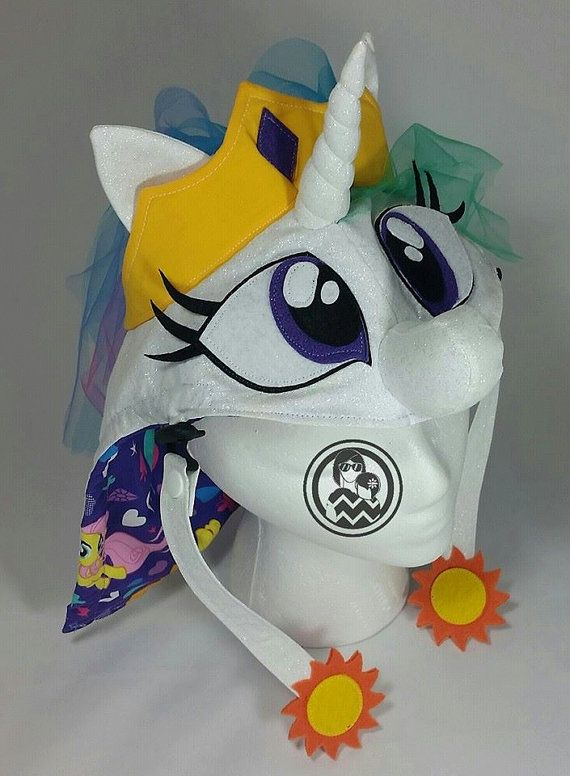 Custom Pretty Pony hood Princess pony hood by CustomKidCarriers